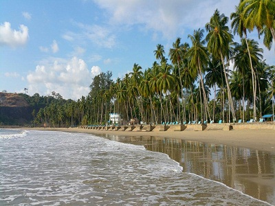 corbyn's cove beach in Andaman