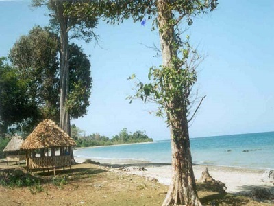 Rangat beach in Andaman