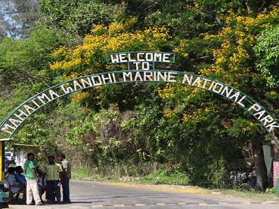 marine-national-park in Andaman